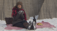 Make the most of the chilly weather with a winter picnic