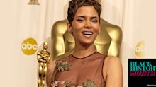 Halle Berry's historic Oscar glow was all about highlighting her brown eyes