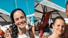 Alice Braga e Bianca Comparato mantêm namoro discreto há três anos
