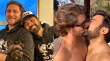 """Que casal! Filho de Mauricio de Sousa dá beijão no marido: """"Orgulho"""""""