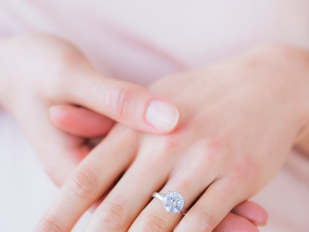 I Wore A Fake Engagement Ring To A Job Interview...Seriously