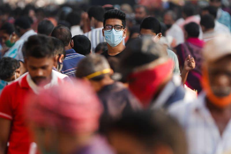 India reaches 8.4 million coronavirus cases