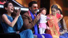 LOL! Ranveer Singh & Sara Ali Khan Finally Meet the Taimur Doll