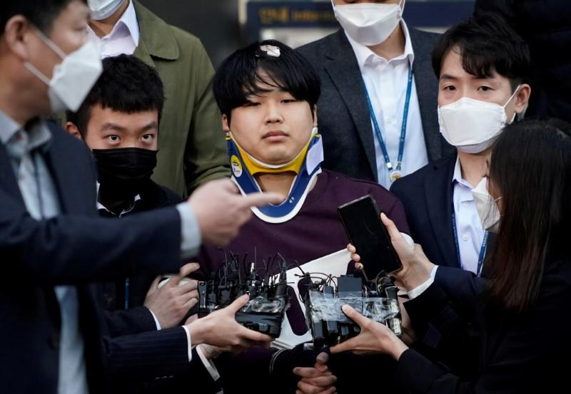 Suspect in South Korea sex blackmail case identified amid outcry