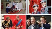 Los momentos más adorables juntos de los príncipes Guillermo y Harry de Inglaterra