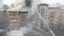 Blast and Building Collapse in NYC's East Village