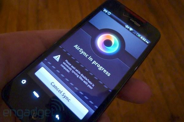 AirSync for doubleTwist brings wireless syncing to Android phones