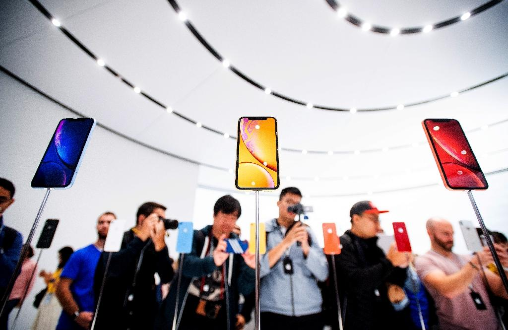 Smartphones have become ubiquitous around the world, but the next big thing remains unclear (AFP Photo/NOAH BERGER)