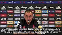 Sarri: Buffon mehr als nur ein Ersatzspieler