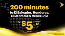 Sprint Offers Simple and Affordable International Calling to Colombia, El Salvador, Honduras, Guatemala and Venezuela