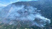 Blaze near Lytton spread across steep terrain, says BC Wildfire Service