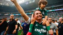 Conselheiros do Palmeiras se irritam com Bolsonaro por causa da Taça Rio-51
