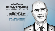 John Stankey, President and COO at AT&T as well as CEO at WarnerMedia, joins Influencers with Andy Serwer