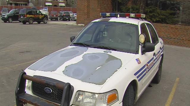Donors paying for new police cars and EMS rigs