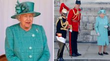 The Queen's unusual first appearance since lockdown