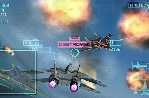 Ace Combat: Joint Assault for PSP brings Ace Combat into the real world
