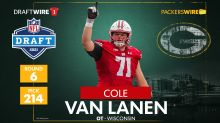 WATCH: Green Bay Packers OL Cole Van Lanen talks about his first practice in Green Bay