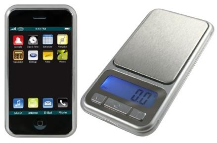 Keepin' it real fake, part CVII: Is it an iPhone, or a scale? You decide!