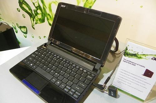 Acer Aspire One 532G first to feature NVIDIA Ion 2 switchable graphics
