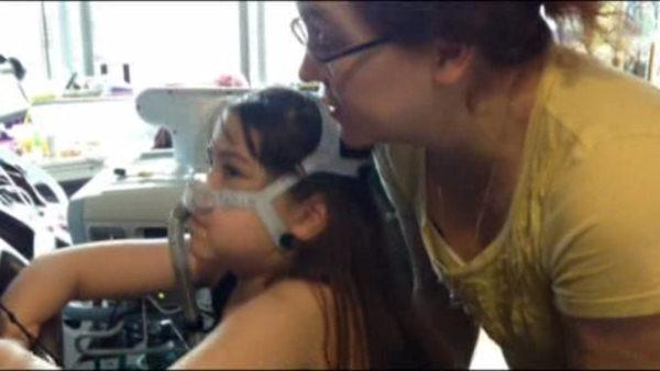 Young Philidelphia girl getting lung transplant