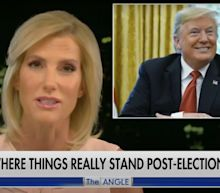 Laura Ingraham told viewers that Biden would be the next president and suggested anyone saying otherwise was lying