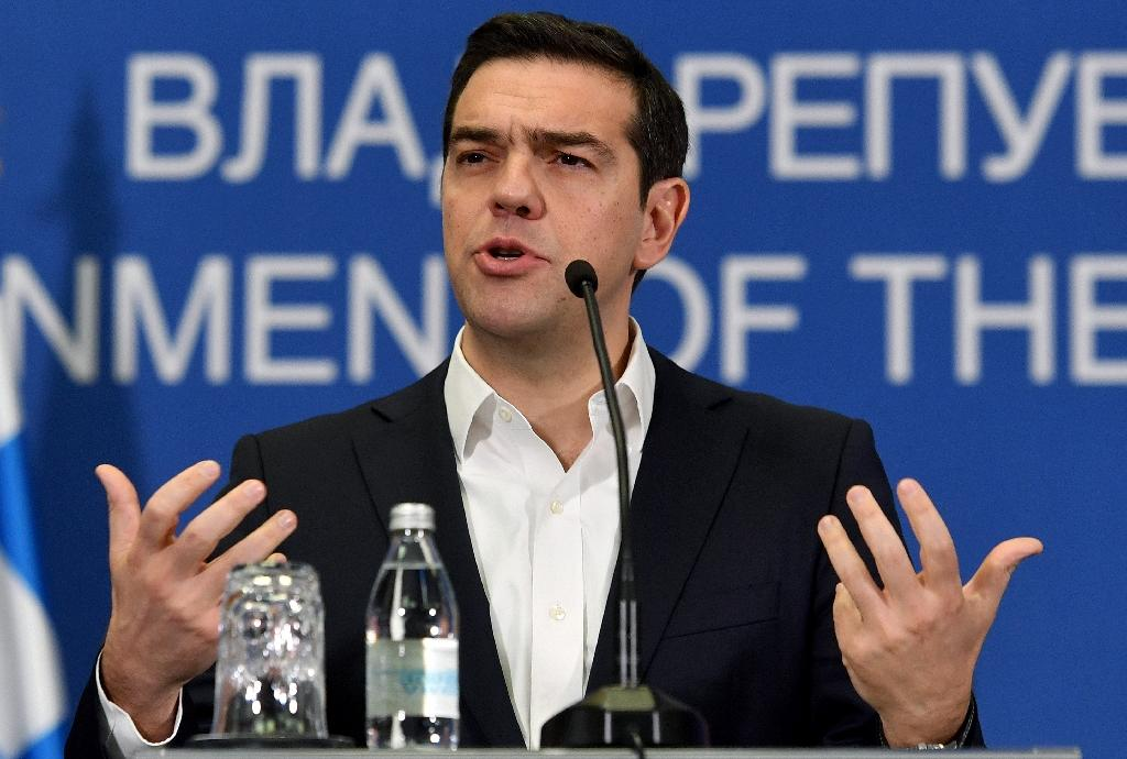 "Greek Prime Minister Alexis Tsipras said, ""If the Eurogroup is not in a position to (produce a result) on Friday, I have asked EU President Donald Tusk to call a summit of eurozone countries"""