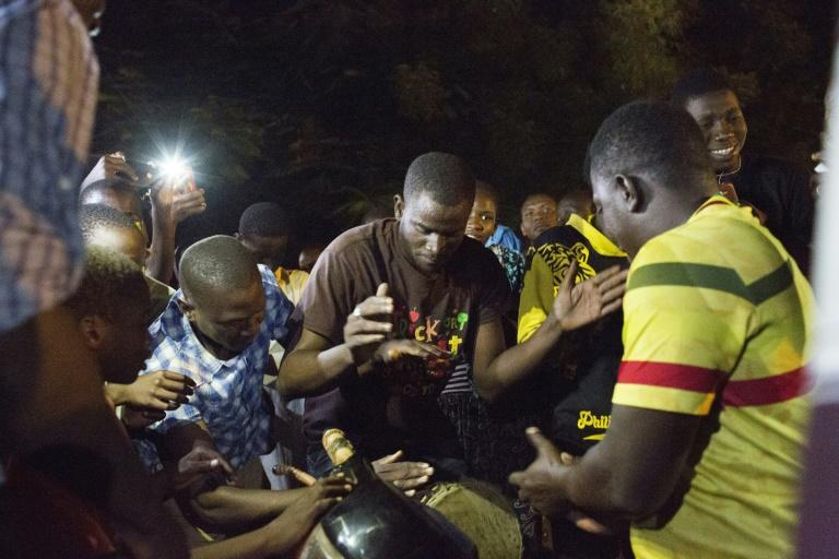 Malian politician Soumaila Cisse was greeted by cheering crowds on his return home
