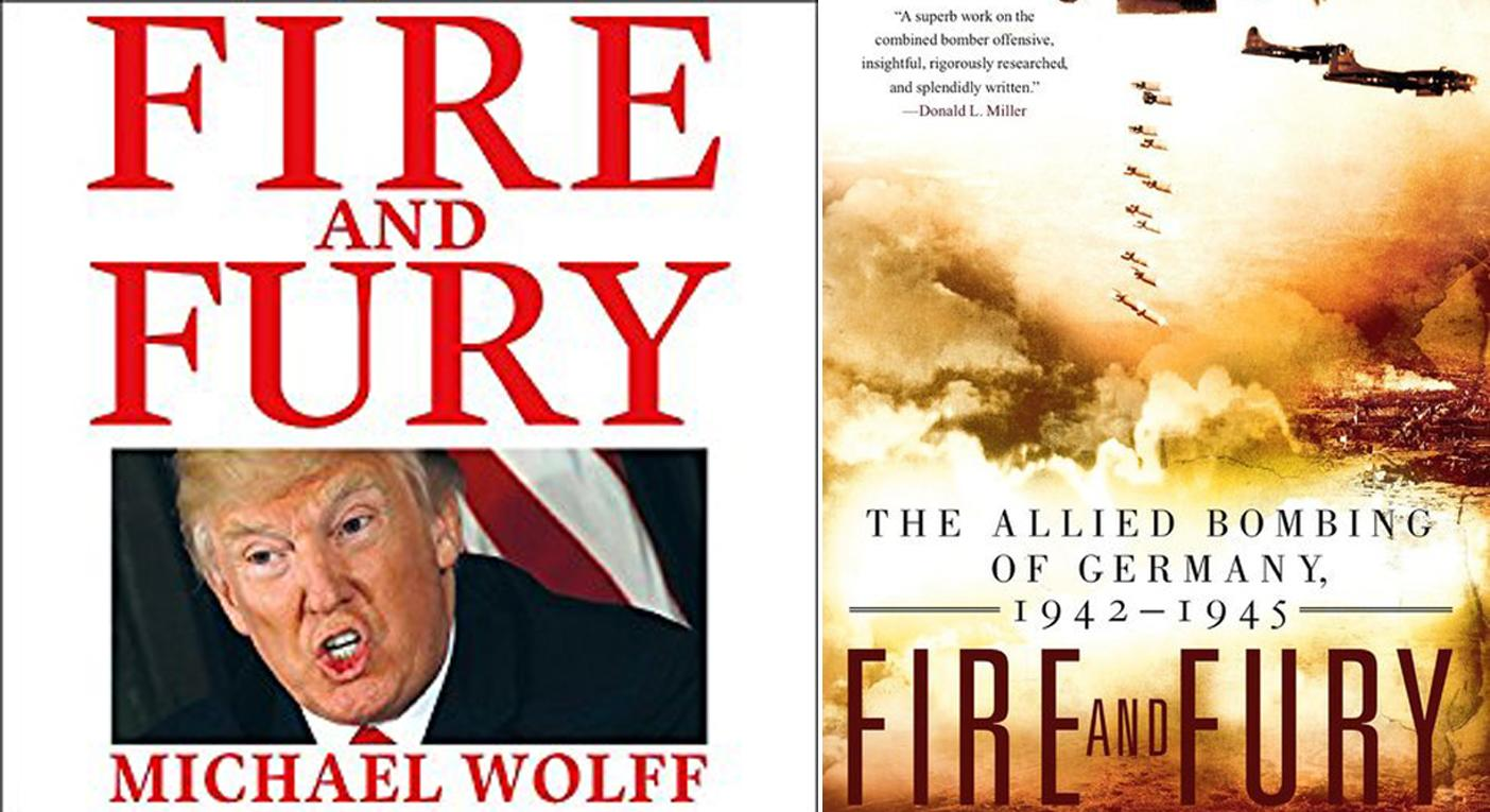 Decade-old Fire and Fury book back in bestseller list as