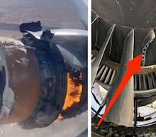 New photos of the Boeing 777 engine that failed show where a blade snapped off inside
