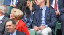 Jeff Bezos and Girlfriend Lauren Sanchez Enjoy a Date at Wimbledon Men's Final