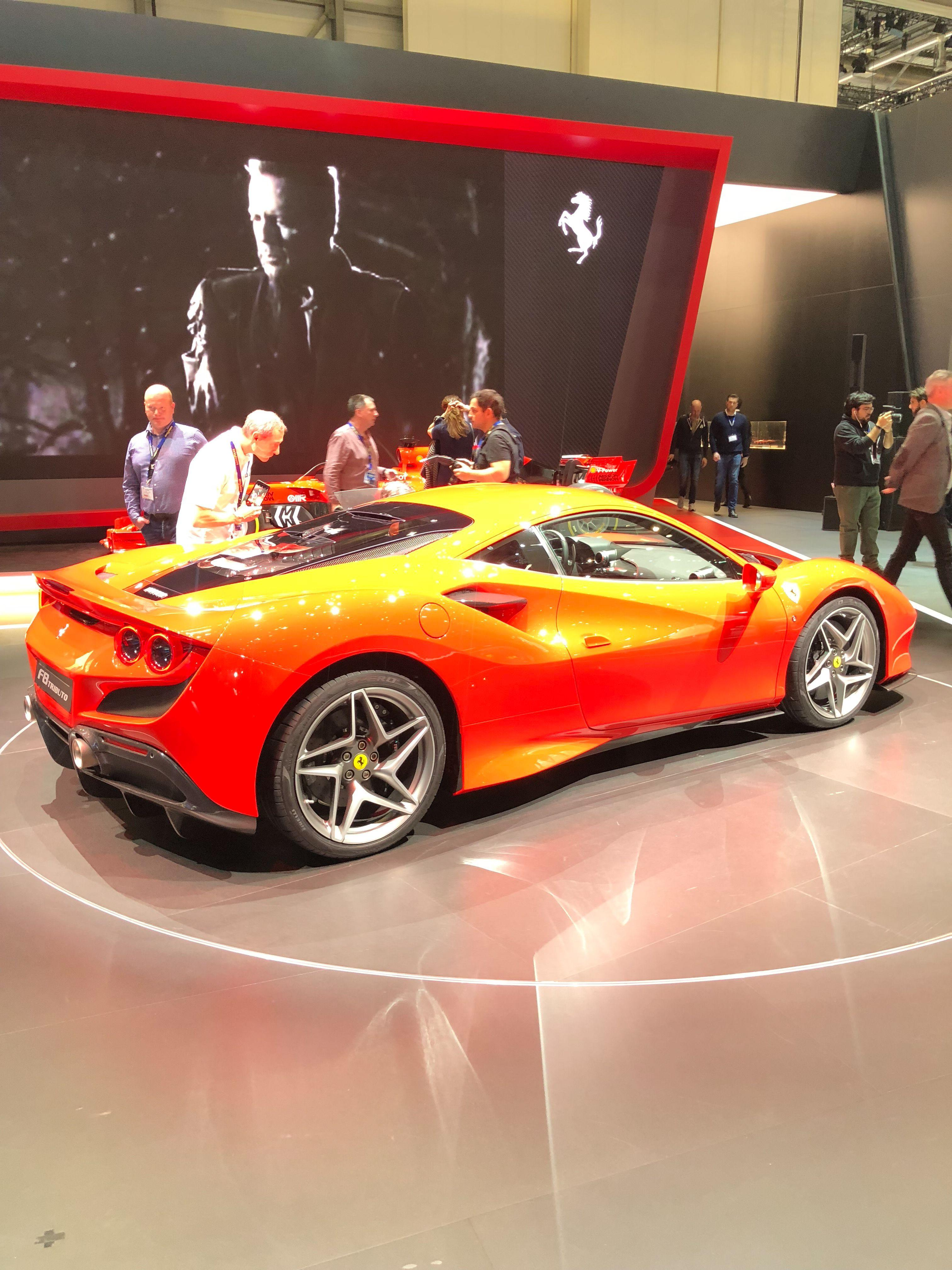 See The New 2020 Ferrari F8 Tributo In Pictures