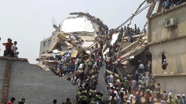 Scores Dead in Bangladesh Building Collapse