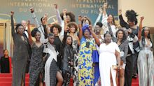 Why Balmain Dressed 16 Black Actresses At Cannes