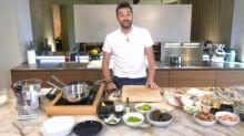Tous en cuisine en direct avec Cyril Lignac: Michaël Gregorio dîne en direct avec une jolie actrice française