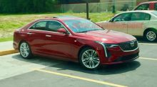 2020 Cadillac CT4 spied completely undisguised for the first time