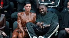 Kim Kardashian wore face shield and gloves to change Kanye's sheets when he had COVID-19