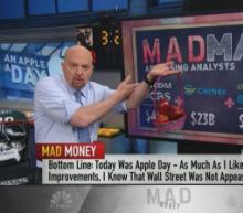 Apple Day was a game-changer for customers but not investors, Cramer says