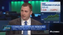 Can the consumer staples comeback rally continue?
