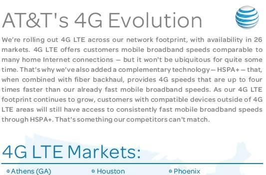 AT&T expands LTE coverage to eleven new markets, including NYC, San Francisco and Los Angeles