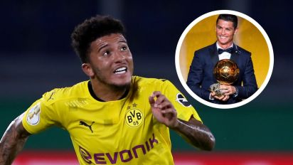 Sancho backed to become 'as good as Ronaldo' as Dortmund team-mate Guerreiro salutes Manchester United target