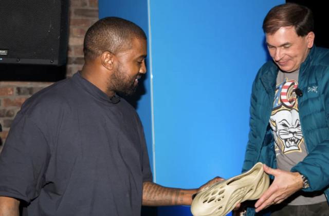 Kanye West's sustainable Yeezy concept uses algae foam