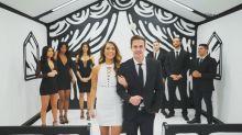 Wie ein Comic: Diese Hochzeitskapelle ist Instagram-tauglich