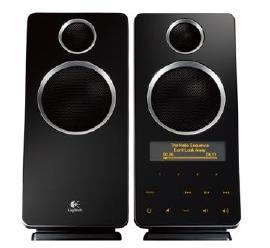 Logitech Z-10 Interactive 2.0 Speaker System comes with Internet radio presets
