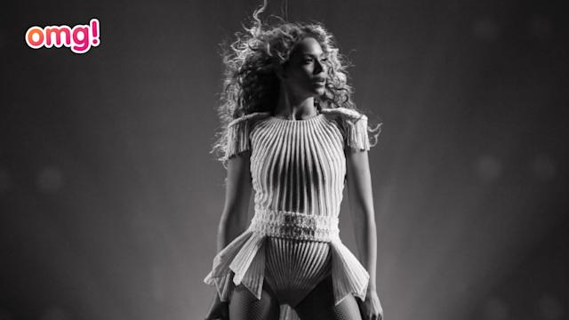 Beyoncé's Mrs Carter tour exclusive look