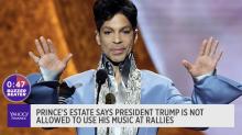 No more Prince music at Trump rallies?