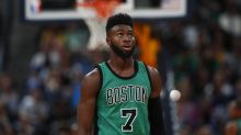 Jaylen Brown is the latest victim of the NBA's rookie popcorn prank
