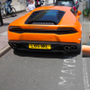 Lamborghini driver refuses to stop parking his £250,000 supercar in mayor's parking space