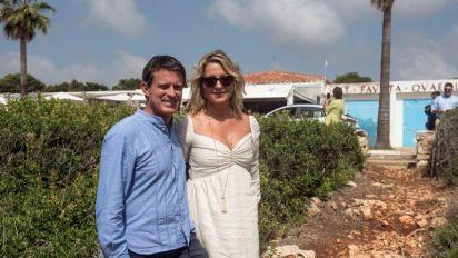 Valls y Gallardo finalizan los festejos de su boda en Menorca