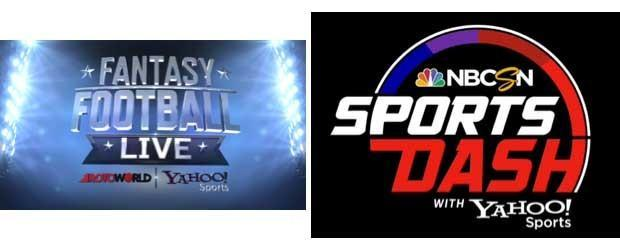 Yahoo and NBC Sports launch 'Fantasy Football Live' and 'SportsDash with Yahoo Sports' shows for TV and the web