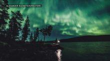 Spectacular Northern Lights shimmer over Finland